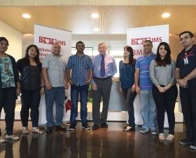 IMS team with Gordon Boyle, President & CEO