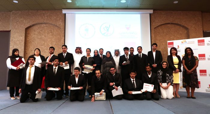 EFTS trainees graduate from their one year training at Alosra supermarket