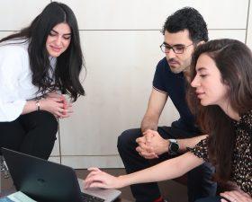 Marwa, Aiman and Sarah