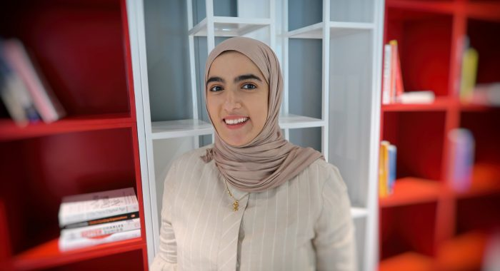 Narjes Haider, Alosra supermarket's Digital Marketing Executive