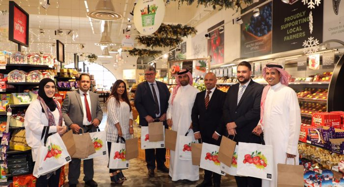 Representatives from the Alosra and BMMI team and the Supreme Council for the Environment