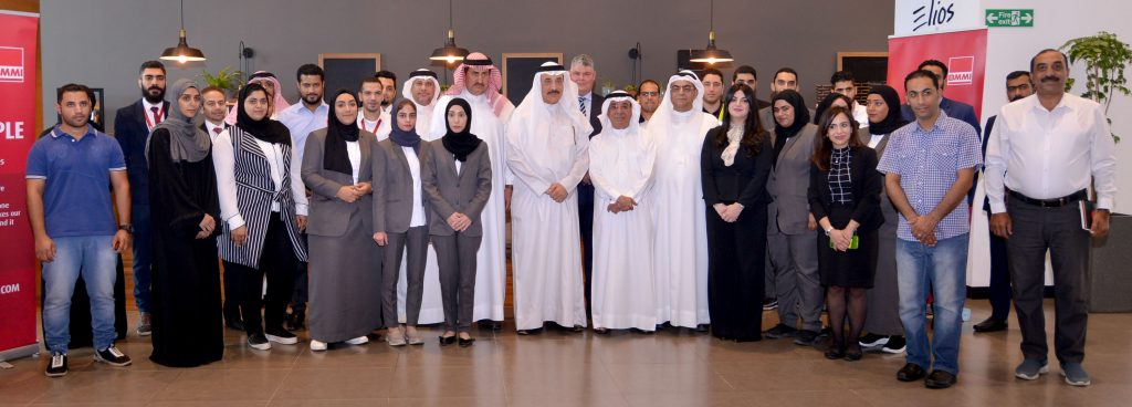 Bahrain's Labour and Social Development Minister visits BMMI in recognition of the organisation recently employing fifty Bahraini citizens